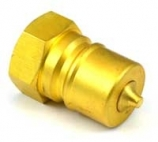 ISO B Brass NPT Plug